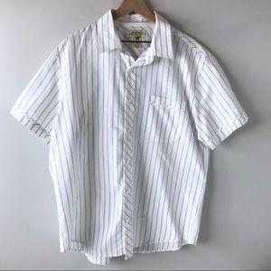 American Rag men's button down stripe shirt XXL